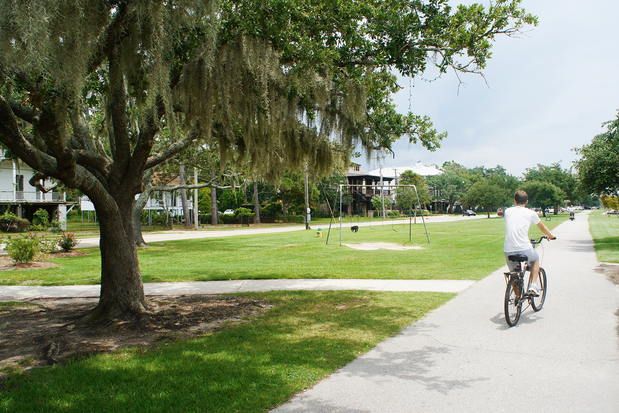 summertime in new orleans